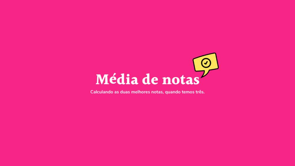 Média de Notas- ProdutiveMe Club
