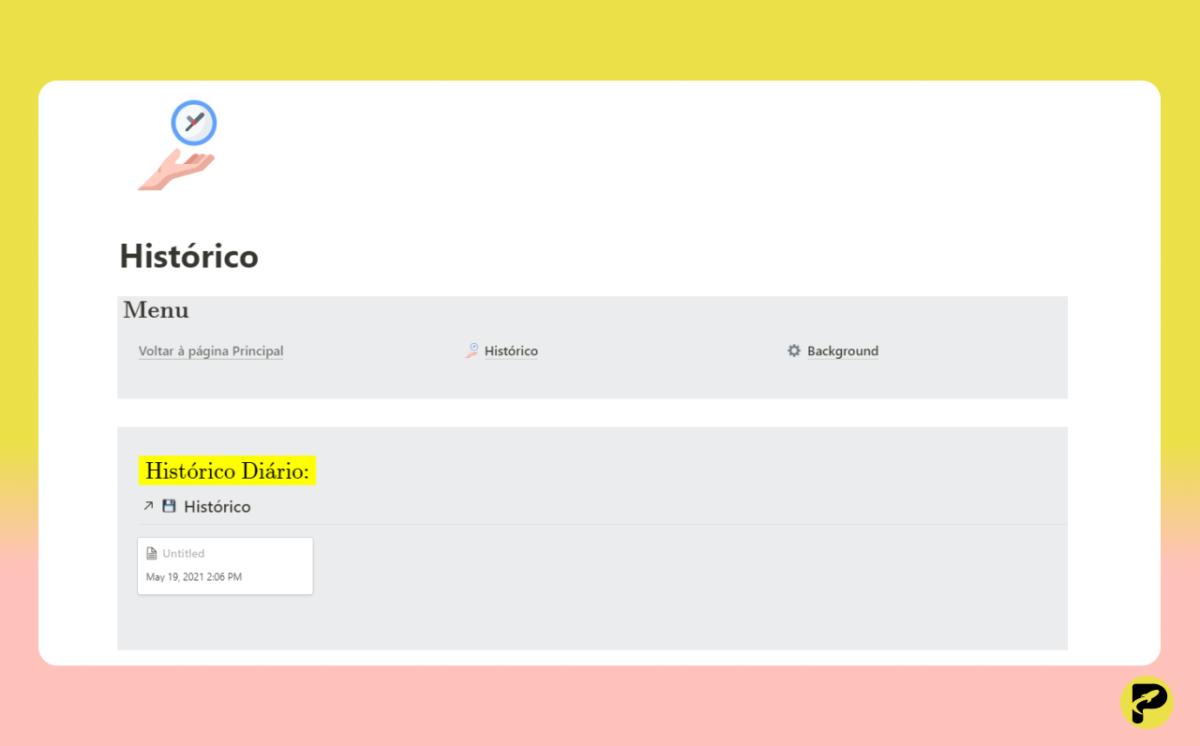 Organização Simples - Notion Template - ProdutiveMe Club